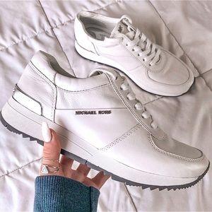 MICHAEL KORS New White Sneakers